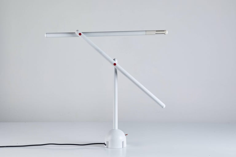 Italian Articulated Mira Table Lamp by Mario Arnaboldi For Sale