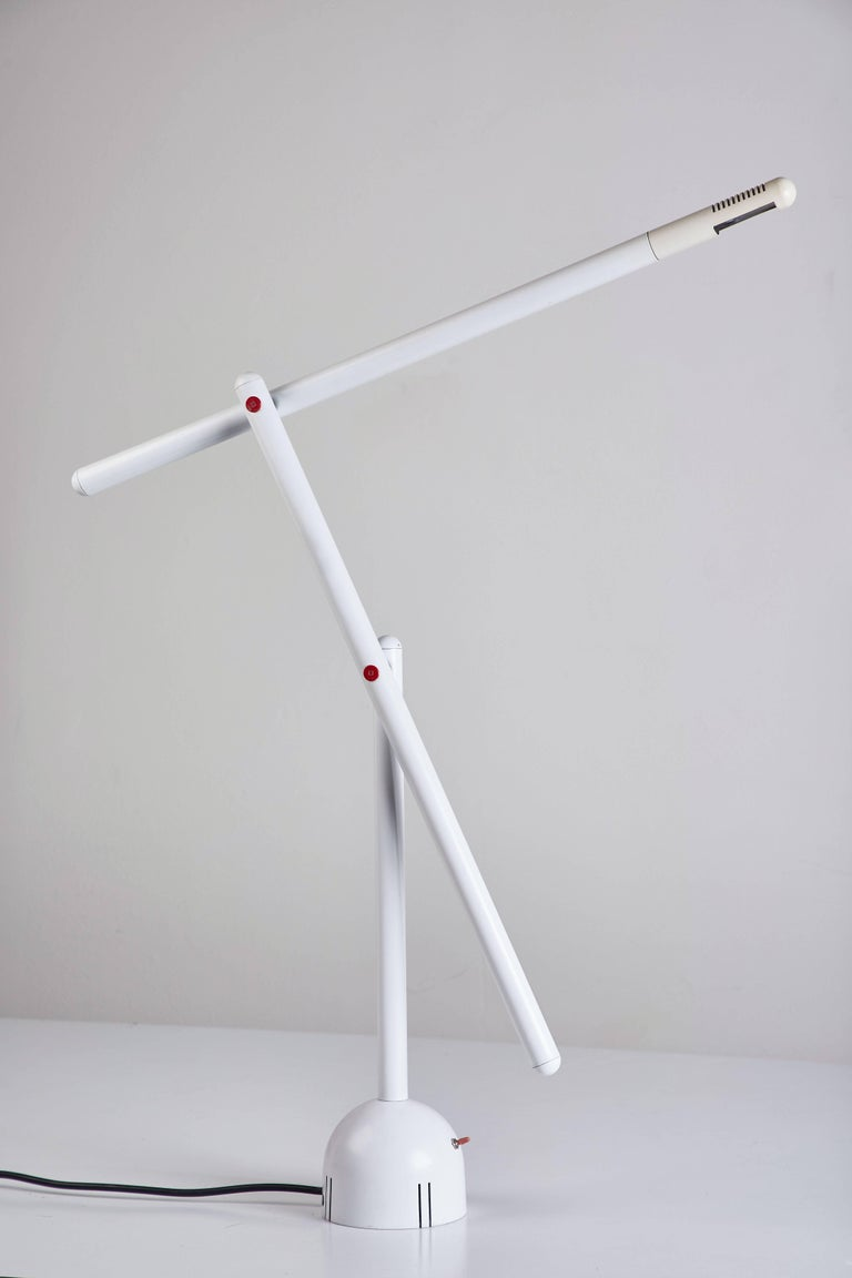 Articulated Mira Table Lamp by Mario Arnaboldi For Sale 1