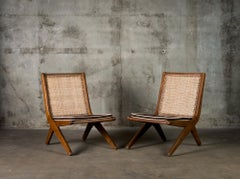 Le Corbusier Pair of Lounge Chairs