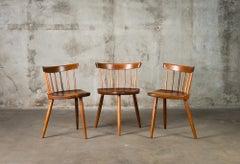 """Nakashima """"Mira"""" Chairs"""