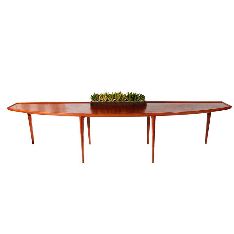 Robsjohn-Gibbings Coffee Table with Planter