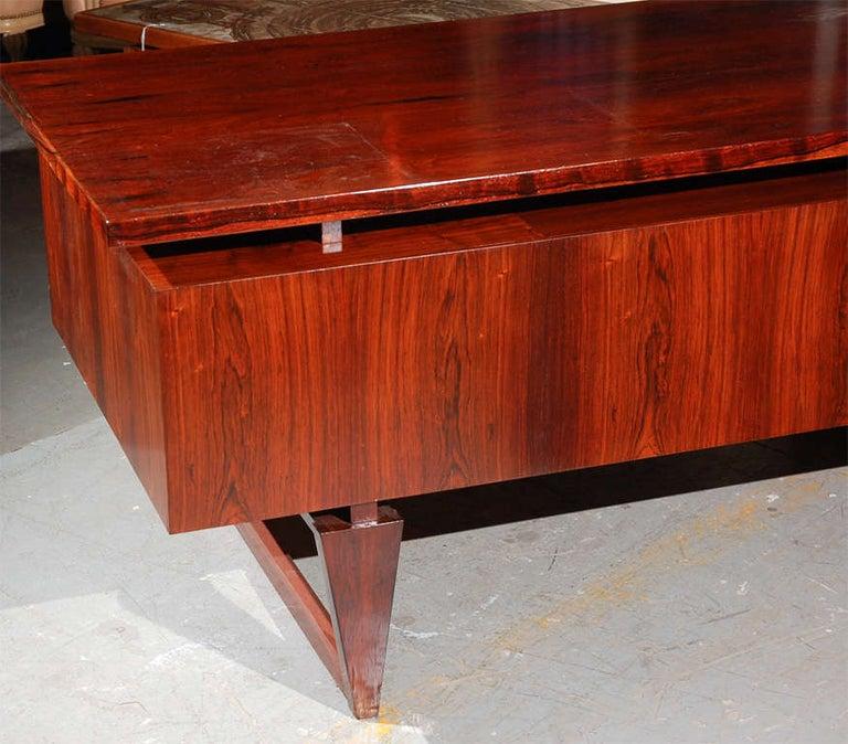 Rosewood Desk from Denmark For Sale 2
