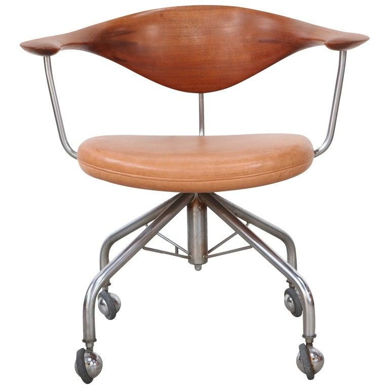 hans wegner office chair for sale at 1stdibs