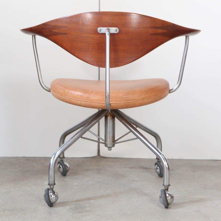 Hans Wegner Office Chair For Sale At 1stdibs