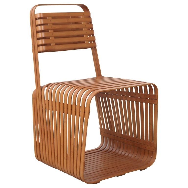 Jeff Dayu Shi Bamboo Chair For Sale At 1stdibs