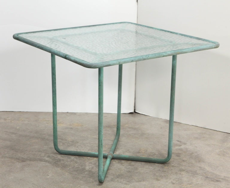 20th Century Walter Lamb Side Table For Sale
