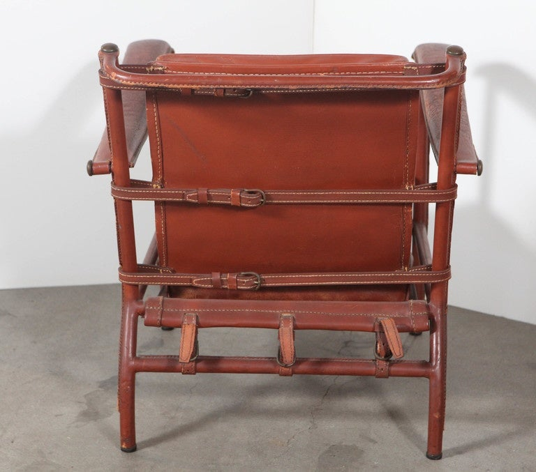 Jacques Adnet Armchair For Sale 3