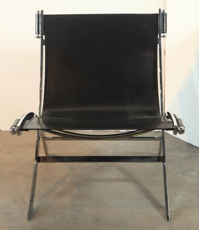 pair of chrome plated steel lounge chairs for sale at 1stdibs steel frame lounge chairs steel lounge chairs
