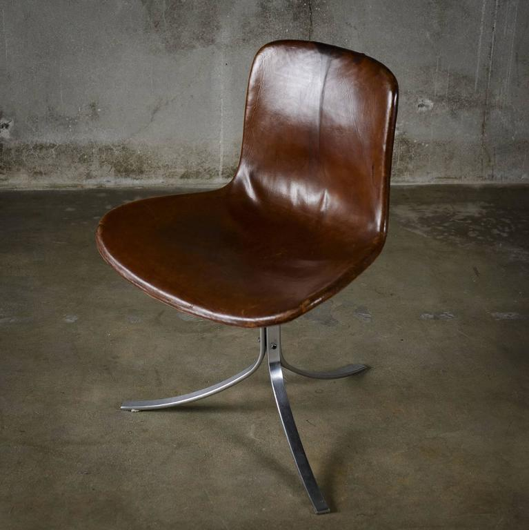 Mid-Century Modern Pair of Poul Kjaerholm PK9 Chairs For Sale