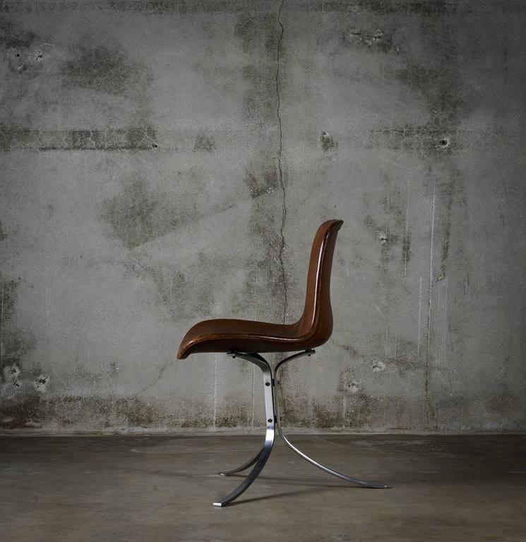 Danish Pair of Poul Kjaerholm PK9 Chairs For Sale
