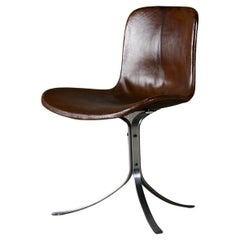 Pair of Poul Kjaerholm PK9 Chairs