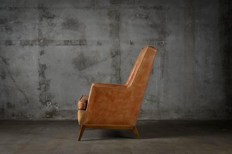 Mid-Century Modern T.H. Robsjohn Gibbings Lounge Chair For Sale