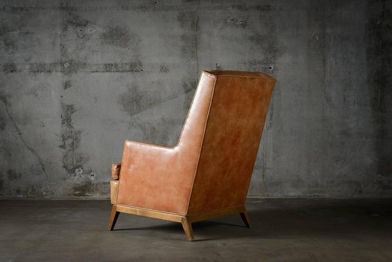 American T.H. Robsjohn Gibbings Lounge Chair For Sale