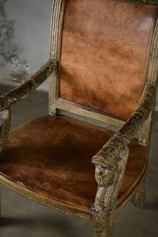 Neoclassical Armchair For Sale 1