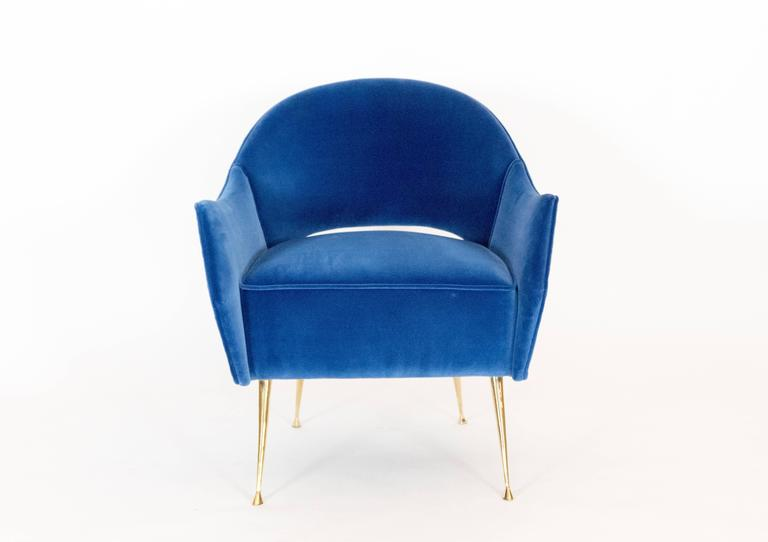 Mid-Century Modern Pair Of Briance Chairs