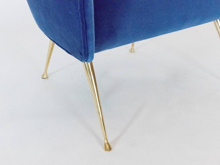 Contemporary Pair Of Briance Chairs