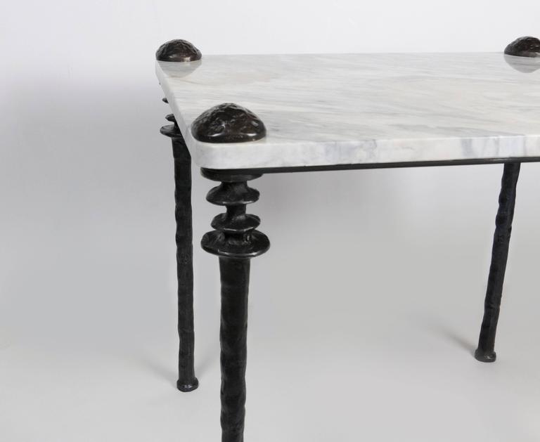 Contemporary Pair of Sorgue Side Tables For Sale