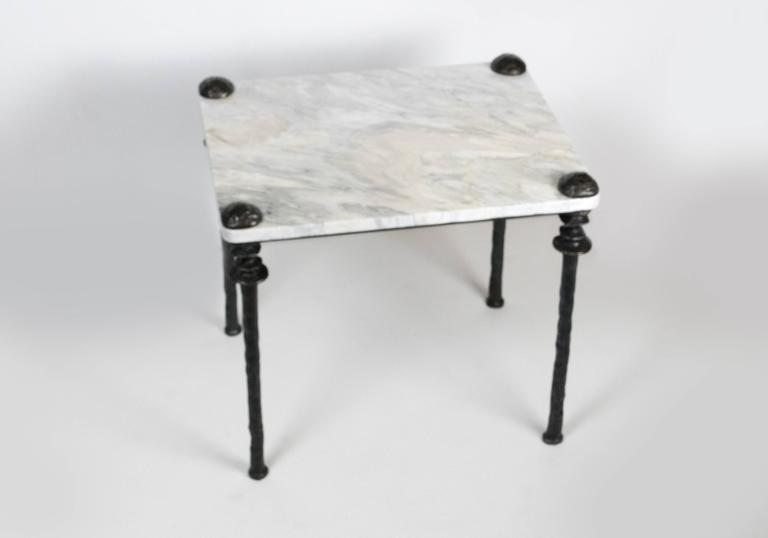American Pair of Sorgue Side Tables For Sale