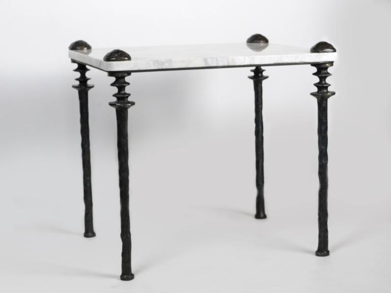 Pair of Sorgue Side Tables In Excellent Condition For Sale In Los Angeles, CA