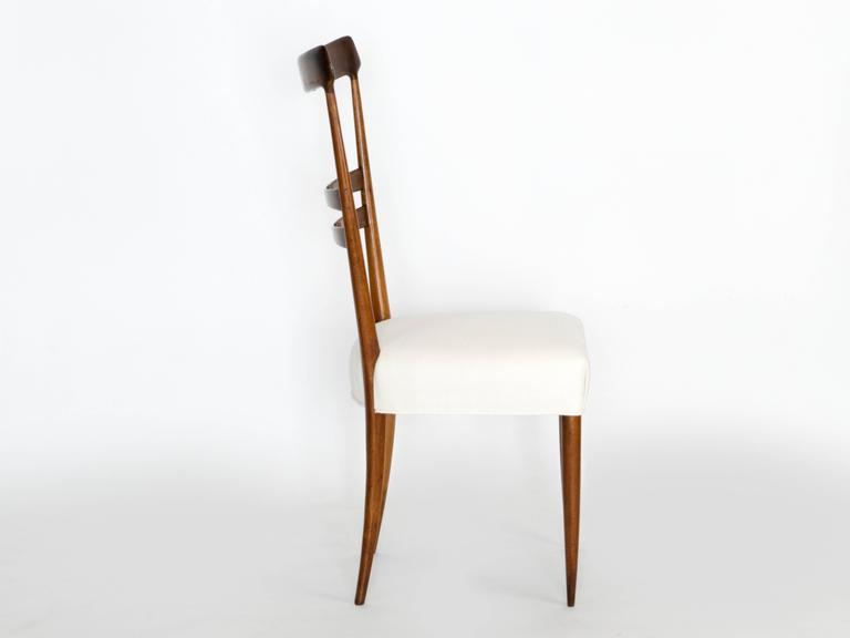 Set of Six Dining Chairs In Good Condition For Sale In Los Angeles, CA