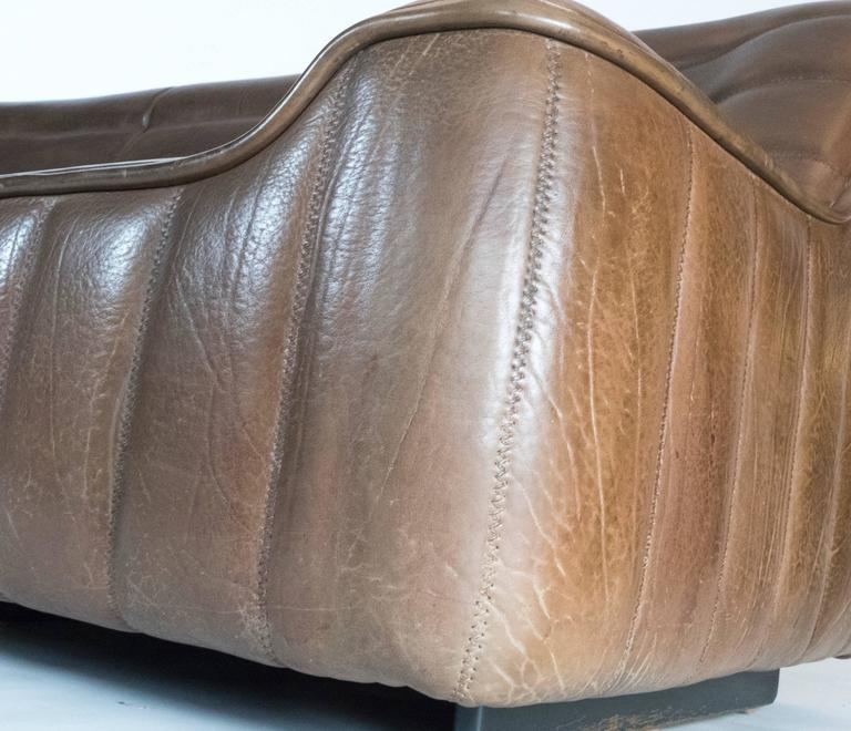 Leather DS-84 Sofa by De Sede For Sale