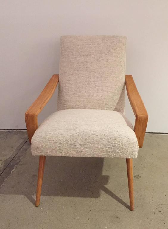 Pair of 1950 French Armchairs 3