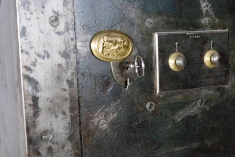 French Steel Safe by H. Dorval 6