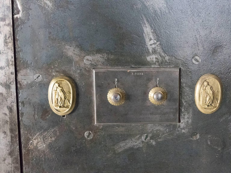 French Steel Safe by H. Dorval 7