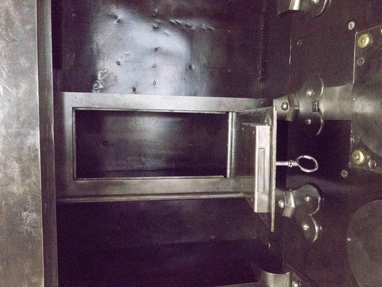 Large Napoleon III Steel Safe For Sale 4