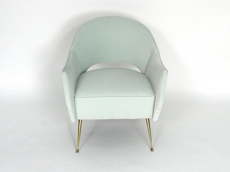 American Pair of Briance Chairs by Bourgeois Boheme Atelier For Sale