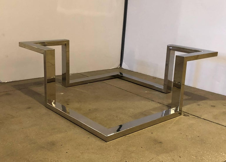 1970 Modernist Coffee Table For Sale 3