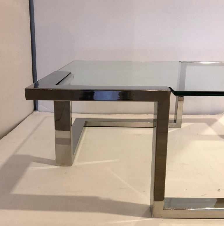 Late 20th Century 1970 Modernist Coffee Table For Sale
