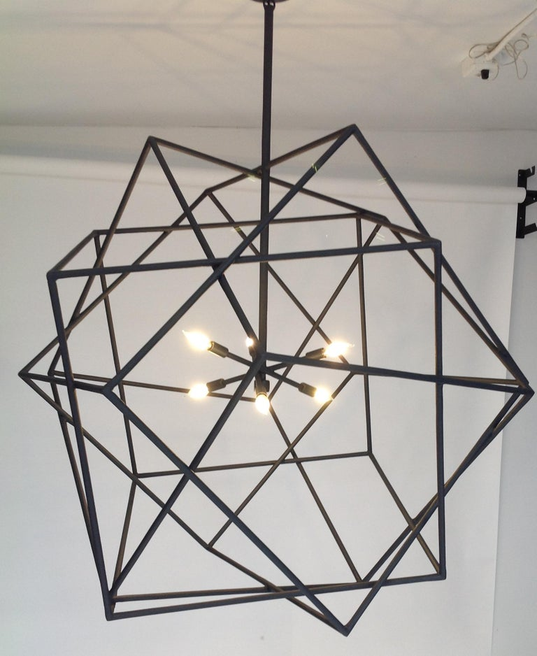 Louvre Chandelier by Bourgeois Boheme Atelier In Excellent Condition For Sale In Los Angeles, CA