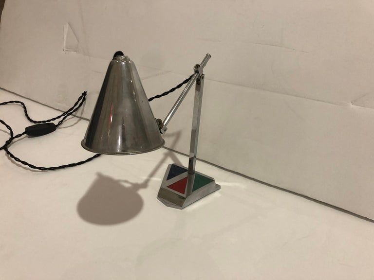 1950s French Office Task Lamp For Sale 2