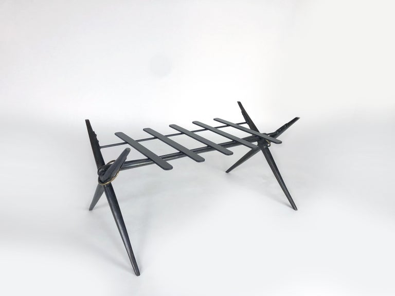 Bel Air Bench by Bourgeois Boheme Atelier For Sale 1