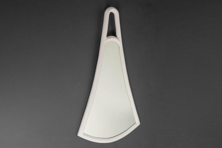 Organic Modern Pyramides Mirror #2 by Bourgeois Boheme Atelier For Sale