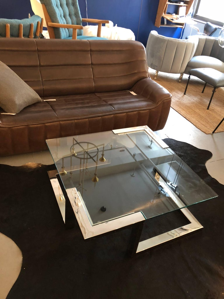 1970 Modernist Coffee Table For Sale 2