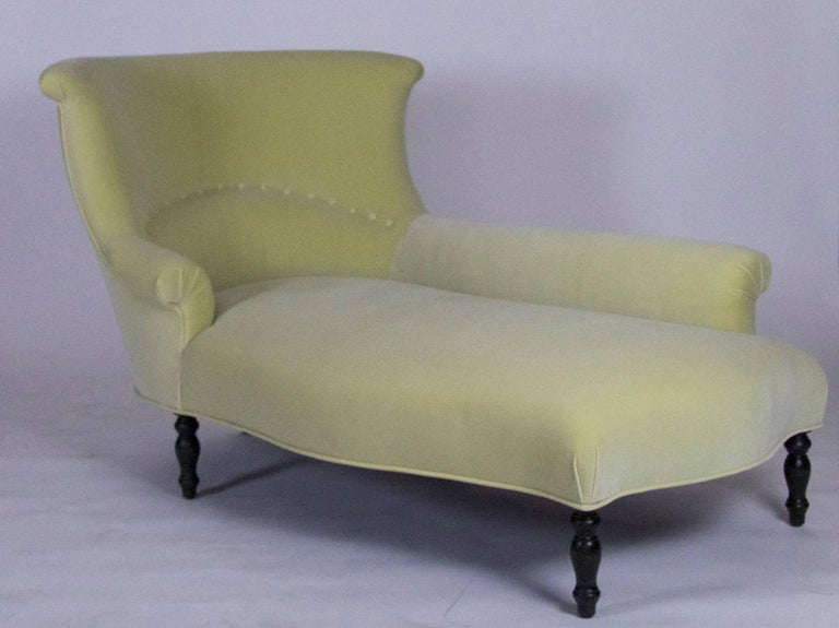 Garonne Chaise Lounge by Bourgeois Boheme Atelier In Excellent Condition For Sale In Los Angeles, CA