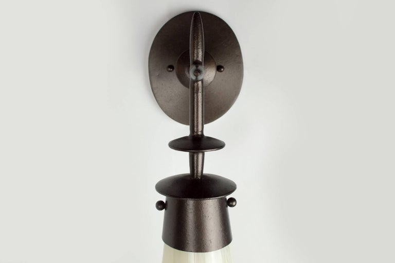 Contemporary Pair of Vendome Sconce by Bourgeois Boheme Atelier For Sale
