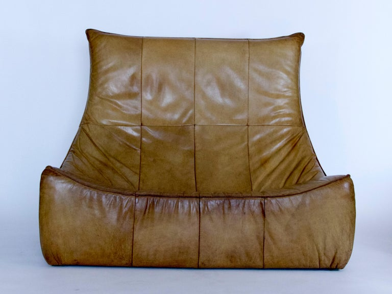 "Modern ""The Rock"" Love Seat For Sale"