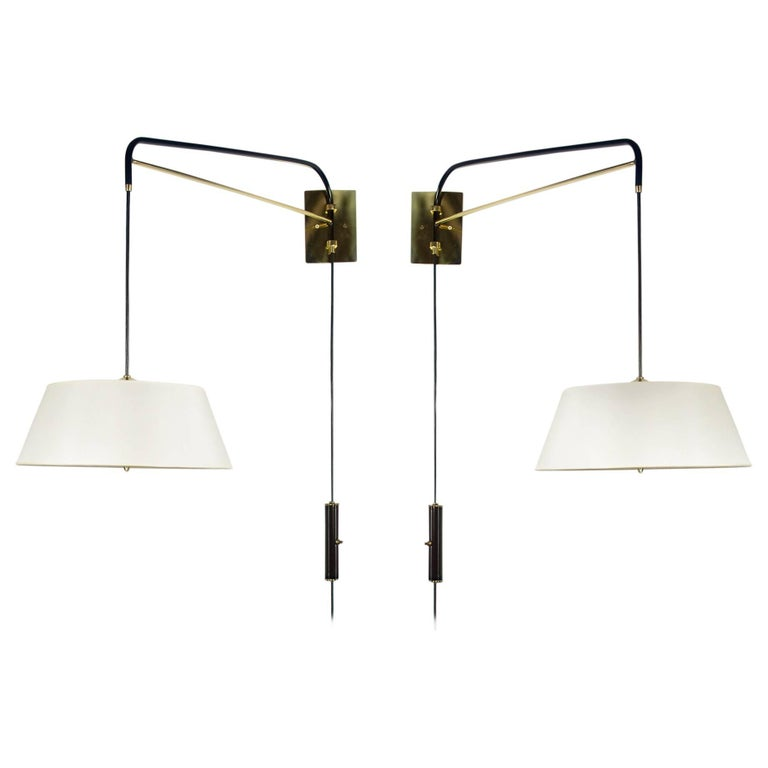 Pair of Danube Sconces by Bourgeois Boheme Atelier For Sale