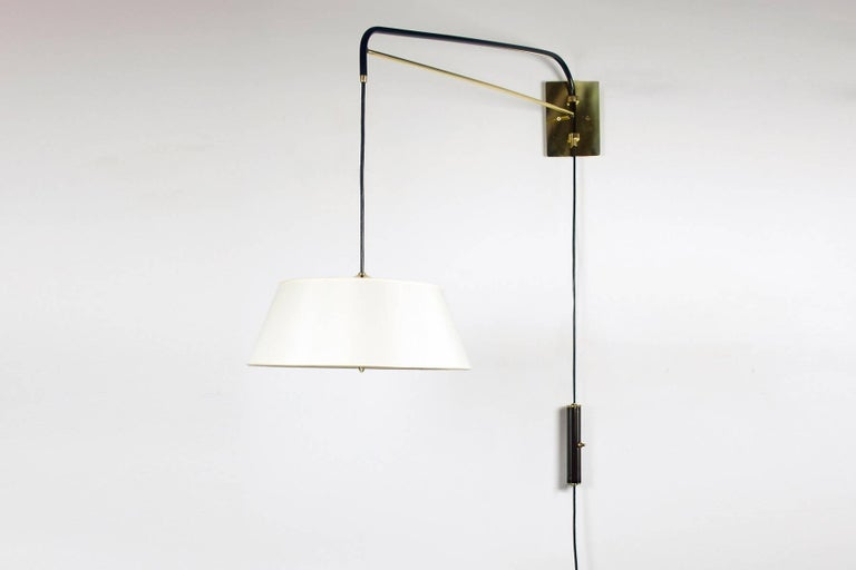 Mid-Century Modern Pair of Danube Sconces by Bourgeois Boheme Atelier For Sale