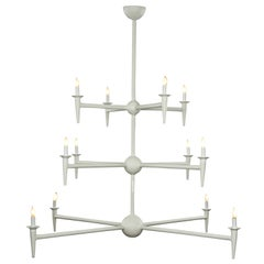 12 Branch Avron Chandelier by Bourgeois Boheme Atelier