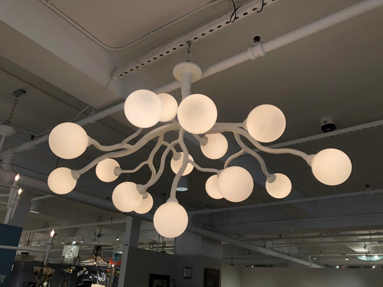 Republique Chandelier by Bourgeois Boheme Atelier In Excellent Condition For Sale In Los Angeles, CA