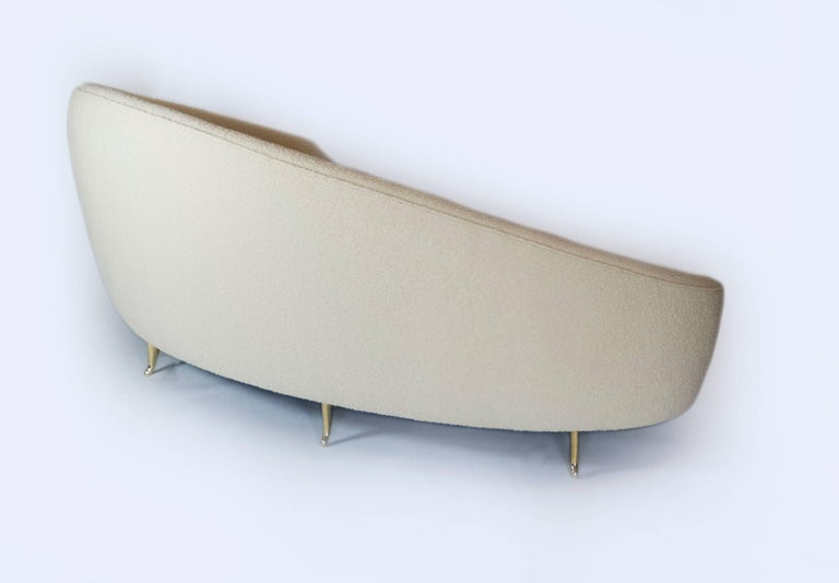 Modern Arc Sofa by Bourgeois Boheme Atelier For Sale