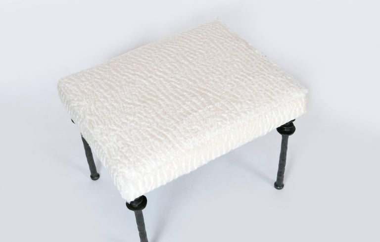 Two beautiful stools inspired by Diego Giacometti, these stools are ideal for