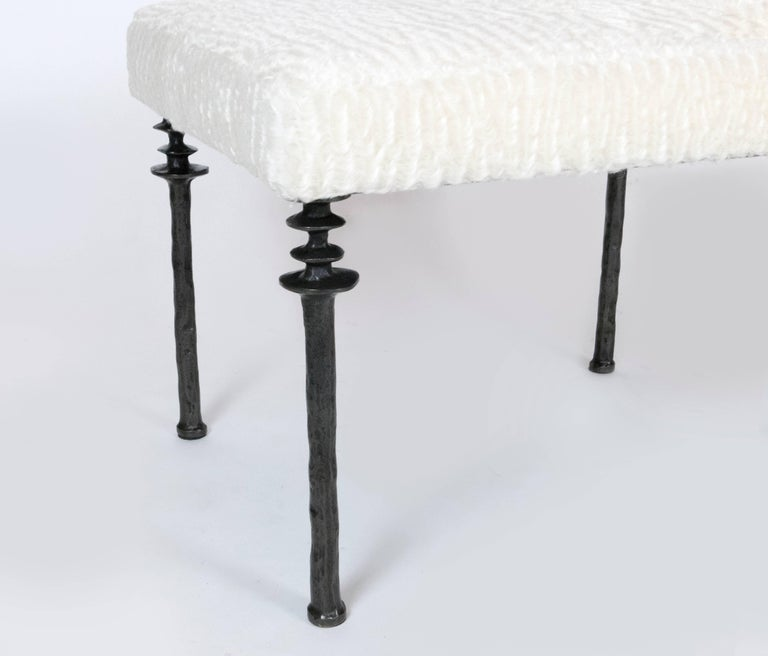 American Pair of Sorgue Stools-by Bourgeois Boheme Atelier For Sale