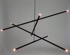 "Pyramides Chandelier ""Noir""  by Bourgeois Boheme Atelier"