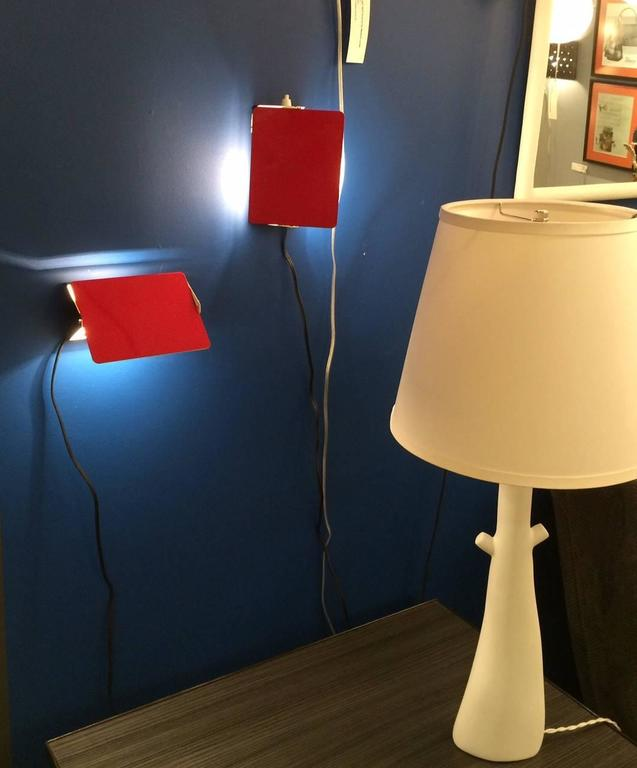Mid-Century Modern Pair of CP1 Wall Sconces by Charlotte Perriand For Sale