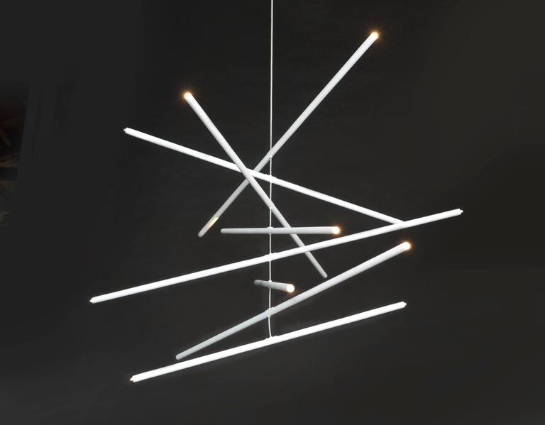 Organic Modern Pyramides Primo Chandelier by Bourgeois Boheme Atelier For Sale